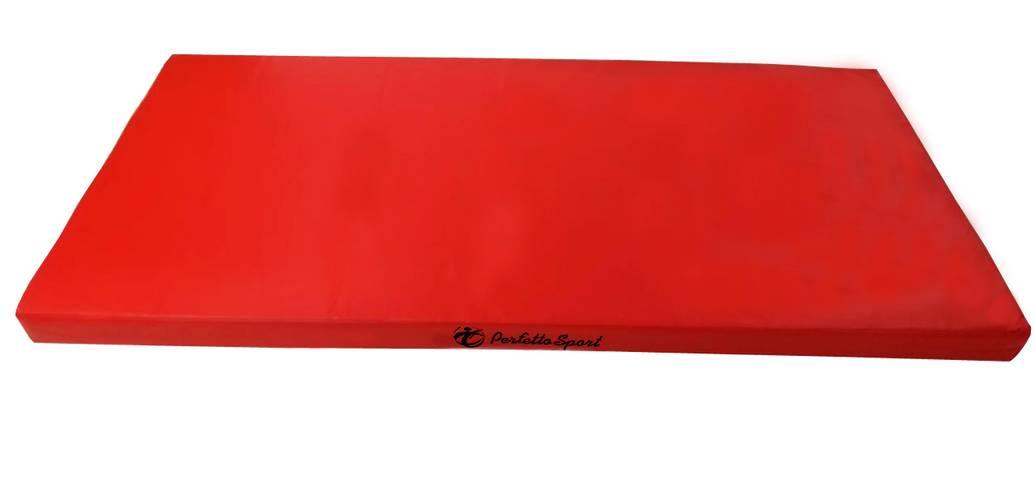 Мат гимнастический PERFETTO SPORT № 9 (100 х 150 х 10) см красно/жёлтый, Варианты цветов: Красно/жёлтый, фото