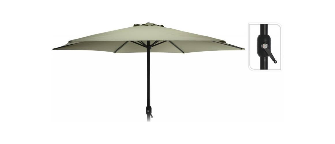 Зонт садовый складной Koopman ф300 купол Зеленый, Цвет: Зеленый, фото