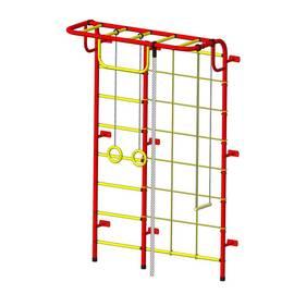 ДСК Пионер - С104 красно/жёлтый, Цвет стоек: Красный, Тип перекладин: Металлические, фото
