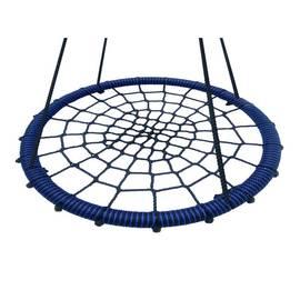Качели- гнездо BABY-GRAD 60 см (Черно/синий), Диаметр кольца: 60 см, Цвет качелей: Черно/синий, фото