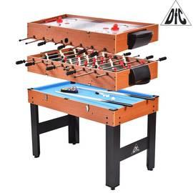 """Игровой стол бильярд / хоккей / соккер DFC SOLID 48"""" 3 в 1 трансформер JG-GT-54810, фото"""