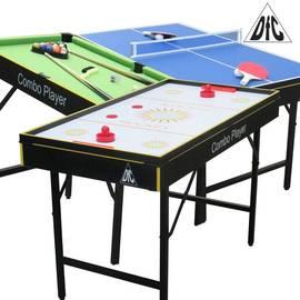 Игровой стол бильярд/хоккей/теннис DFC SMILE 3 в 1 трансформер ES-GT-4870, фото