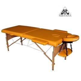 Массажный стол DFC NIRVANA, Relax, дерев. ножки, цвет горчичный (Mustard) TS20111_M, Цвет: Горчичный, фото