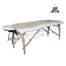 Массажный стол DFC NIRVANA, Relax, дерев. ножки, цвет бежевый + кремовый TS2021D_BC, Цвет: Бежево-кремовый, фото