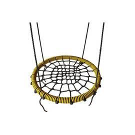 Качели- гнездо BABY-GRAD 100 см (Черно/желтый), Диаметр кольца: 100 см, Цвет качелей: Черно/желтый, фото