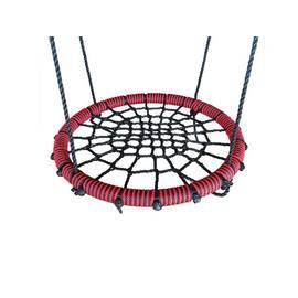 Качели- гнездо BABY-GRAD 80 см (Черно/красный), Диаметр кольца: 80 см, Цвет качелей: Черно/красный, фото