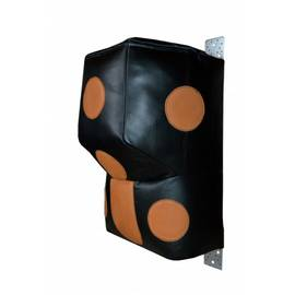 Апперкотная подушка РОККИ Г образная с полусферой кожа 71x50 см, фото
