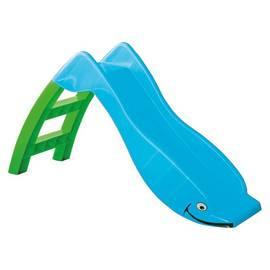 Горка PalPlay 307 Дельфин голубой/зелёный, Цвет: Зелено/голубой, фото