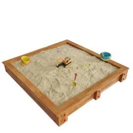 Детская игровая деревянная песочница ДЮНА, фото