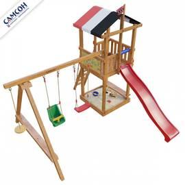 Детская деревянная игровая площадка Амстердам (модель 2018 г.), фото