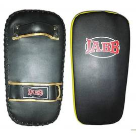 Макивара Jabb (иск.кожа) JE-2235 черный/желтый N/S, фото