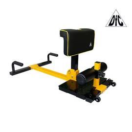 Тренажер для приседаний / гиперэкстензия Squat Machine DFC S035YW, фото