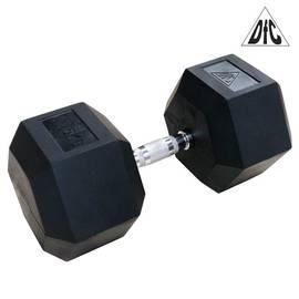 Гантели DFC гексаг. обрезиненная пара 47.5 кг DB001-47.5, фото
