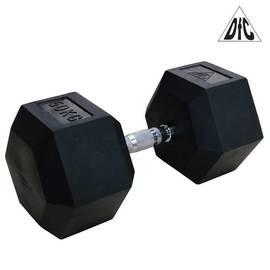 Гантели DFC гексаг. обрезиненная пара 50 кг DB001-50, фото
