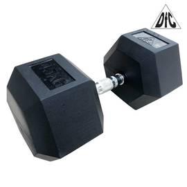 Гантели DFC гексаг. обрезиненная пара 45 кг DB001-45, фото