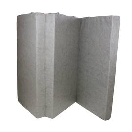 Мат гимнастический складной Midzumi №6 (100 х 150 х 10) см серый, фото