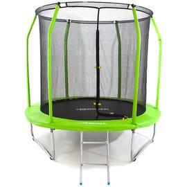 Батут Domsen Fitness Gravity 12FT (Green), Цвет батута: Зеленый, фото