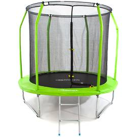 Батут Domsen Fitness Gravity 8FT (Green), Цвет батута: Зеленый, фото