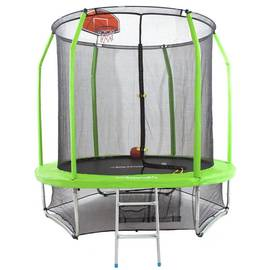 Батут Domsen Fitness Gravity Basketball 10FT (Green), Цвет батута: Зеленый, фото