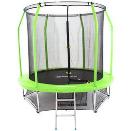 Батут Domsen Fitness Gravity MAX 8FT (Green), Цвет батута: Зеленый, фото