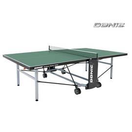 Всепогодный теннисный стол Donic Outdoor Roller 1000 зеленый (230291-G), Цвет: Зеленый, фото