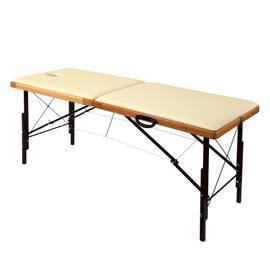 Складной деревянный массажный стол с системой тросов и изменением высоты 190х70 см Престиж (PhN190), фото