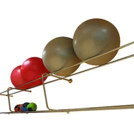 Подвесная консоль для медболов и фитболов (1 п.м.), фото