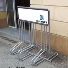Велопарковка Берн (с местом для рекламы), фото