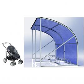 Парковка для детских колясок, фото