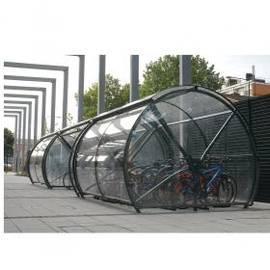 Велопарковка закрытая Капсула, фото
