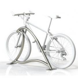 Велопарковка Альфа на 2 велосипеда, фото