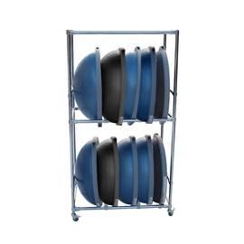 Подставка для 10 балансировочных платформ Bosu, фото
