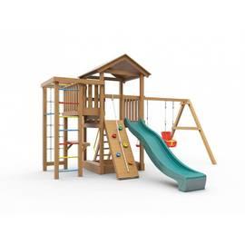 Детская игровая площадка Лео (с покраской), Покрытие: С покраской, фото