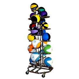 Подставка для хранения 20 мячей вертикальная 4-х сторонняя, фото