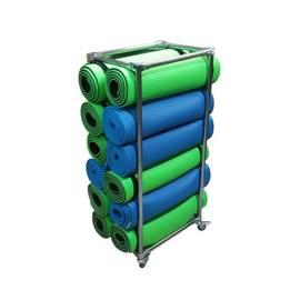 Мобильная стойка для 12 ковриков, фото