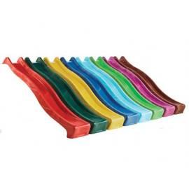 Горка из пластика S-line 3.0 м, Цвет: Красный, фото