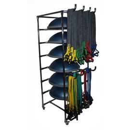 Подставка для 7 балансировочных платформ Bosu (босу), фото