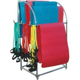 Мобильная стойка для ковриков и эспандеров, фото