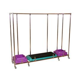 Мобильная стойка для хранения степ платформ, фото