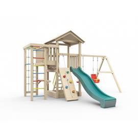 Детская игровая площадка Лео (без покрытия), Покрытие: Без покрытия, фото