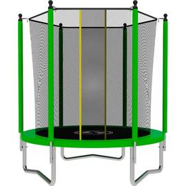 Батут SWOLLEN Lite 6 FT (Green), Цвет батута: Зеленый, фото
