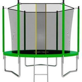 Батут SWOLLEN Lite 8 FT (Green), Цвет батута: Зеленый, фото