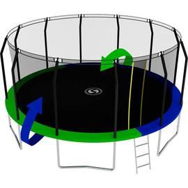 Батут SWOLLEN Prime 16 FT (Зеленый / Синий (двухсторонний)), фото