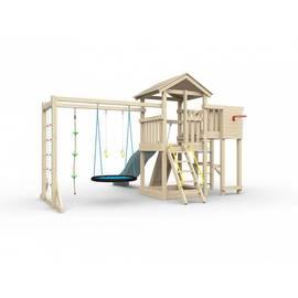 Детская игровая площадка Лео макси с гнездом (без покрытия), Покрытие: Без покрытия, фото