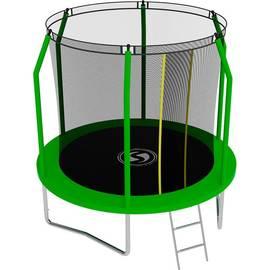 Батут SWOLLEN Comfort 8 FT (Green), Цвет батута: Зеленый, фото