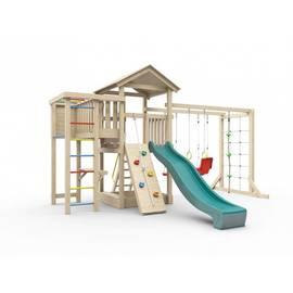 Детская игровая площадка Лео макси (без покрытия), Покрытие: Без покрытия, фото