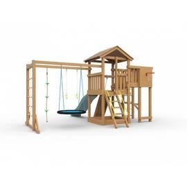 Детская игровая площадка Лео макси с гнездом (с покраской), Покрытие: С покраской, фото