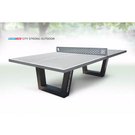 Теннисный стол City Strong Outdoor - бетонный антивандальный теннисный стол., фото