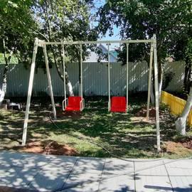 Качели уличные на дачу для детей и взрослых с подшипниками (YT79), фото