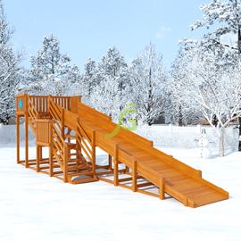 Зимняя горка Snow Fox, скат 8 м, фото